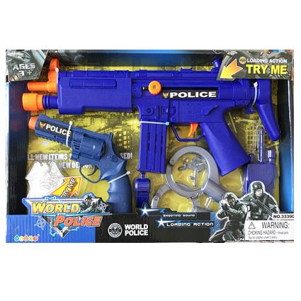 ست تفنگ و دستبند Police