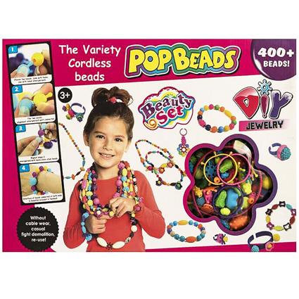 ست جواهر سازی PopBeads 400