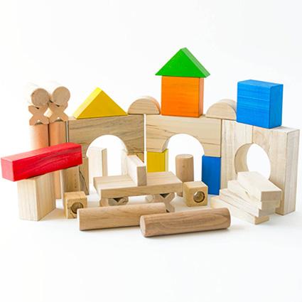 بلوک چوبی