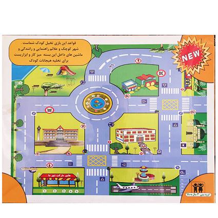 شهر و نقشه و ماشین