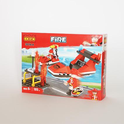 لگو آتشنشان ۳in1 مدل۱۸۴