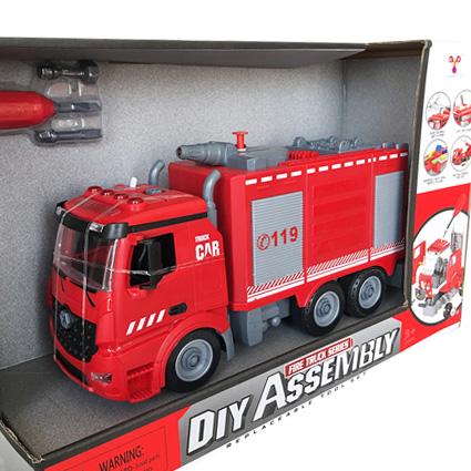 لگو کامیون آتش نشانی