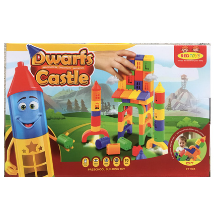 لگو کودکانه قلعه