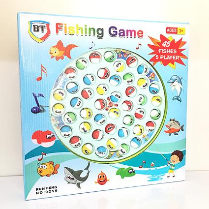 ماهیگیری اسباب بازی BT