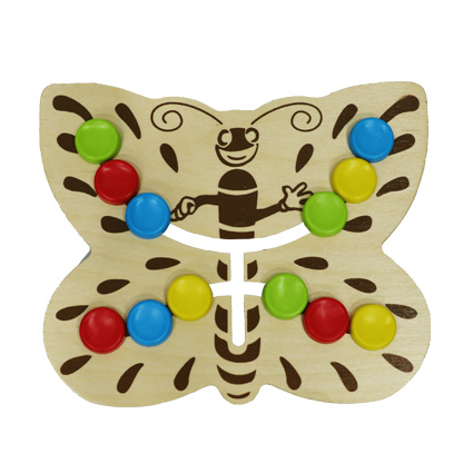 مهره چین – مدل پروانه