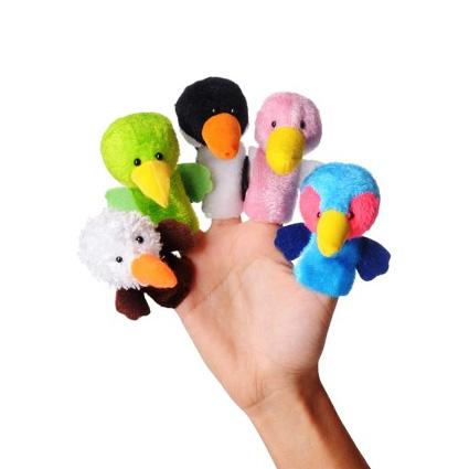عروسک انگشتی پرندگان