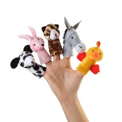 عروسک انگشتی حیوانات