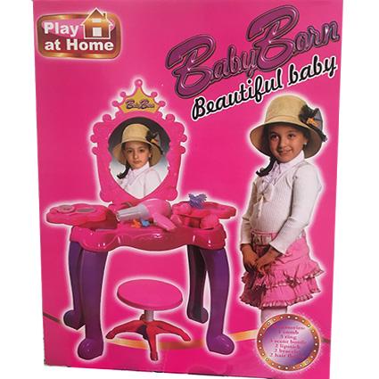 میز آرایش با صندلی Beautiful