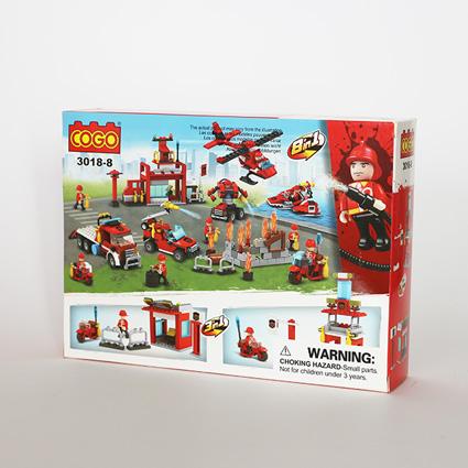 لگو آتشنشان ۳in1 مدل۱۸۸
