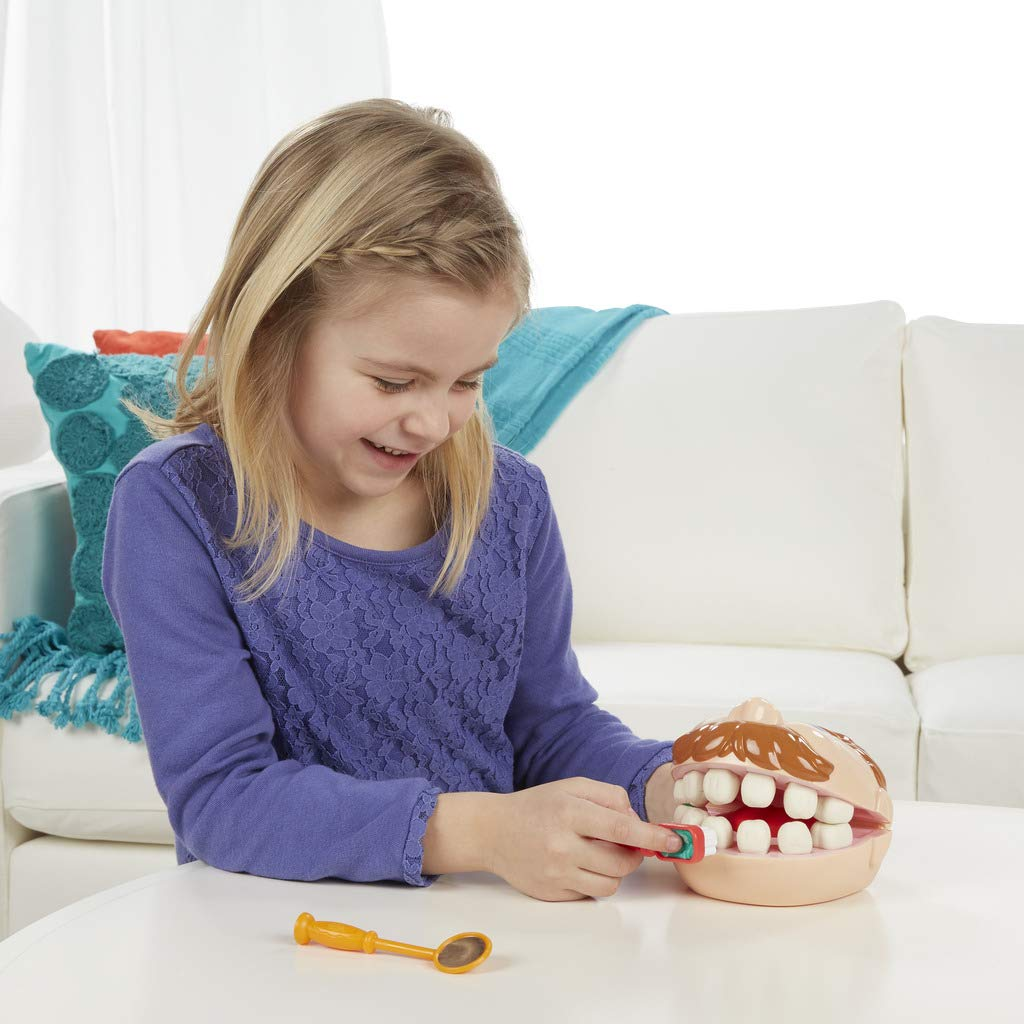 ست خمیربازی دندانپزشکی دکتر دریل پلی دو Play-Doh Doctor  مدل Drill 'n Fill Set