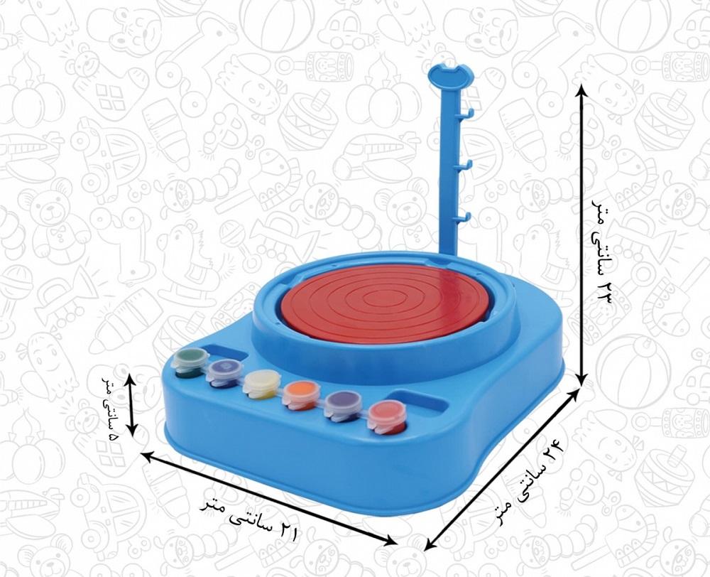 ست سفالگری اسباب بازی ای ام تی MAT مدل AMT3033