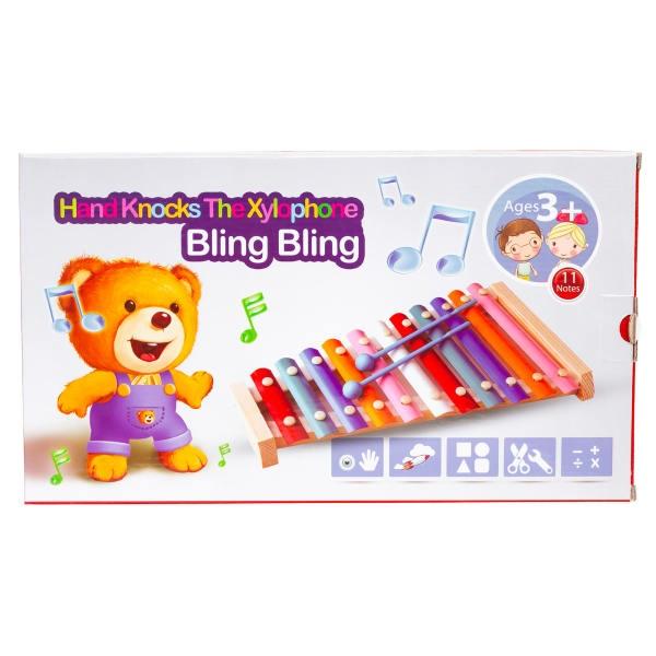 بازی آموزشی بلز چوبی بلینگ بلینگ Bling Bling مدل 11 نت
