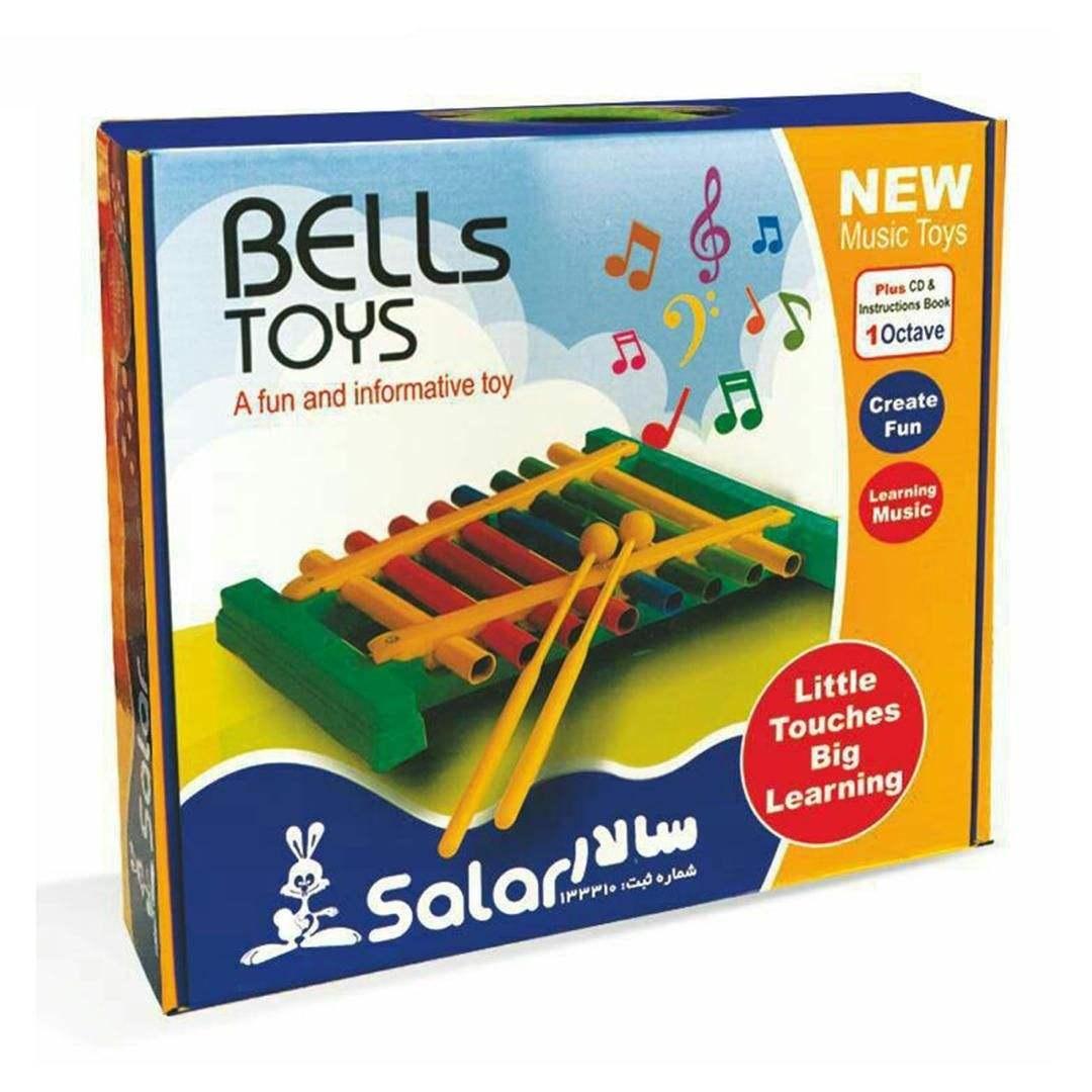 بازی آموزشی بلز سالار SALAR مدل 8 نت