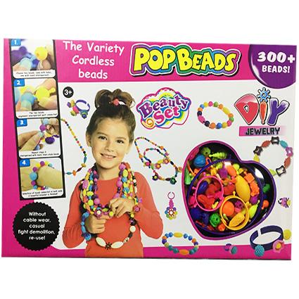ست گردنبند PopBeads 300