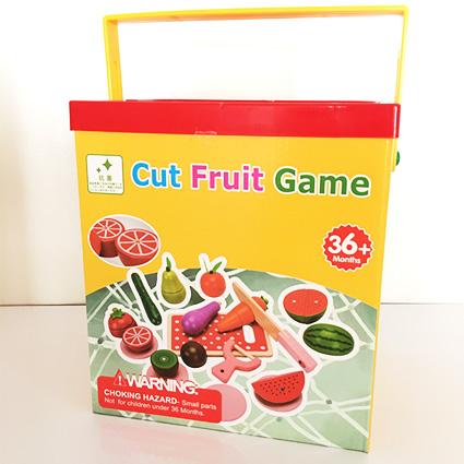 برش میوه چوبی