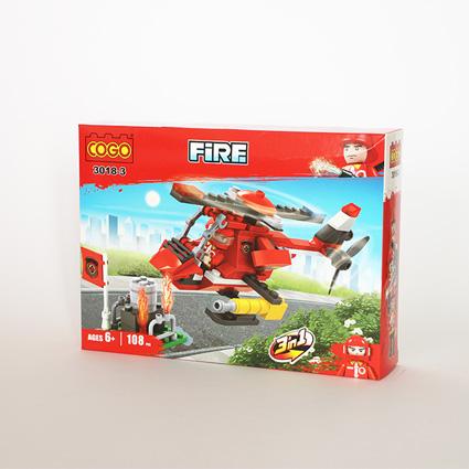 لگو آتشنشان ۳in1 مدل۱۸۳