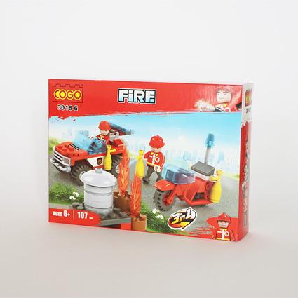 لگو آتشنشان ۳in1 مدل۱۸۶
