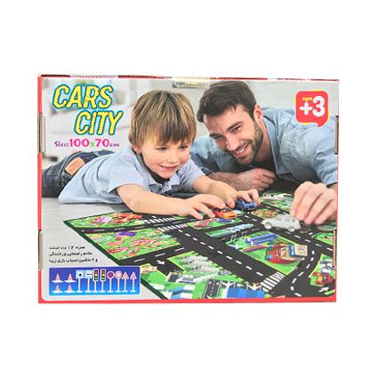 نقشه شهر و ماشین بازی CarsCity