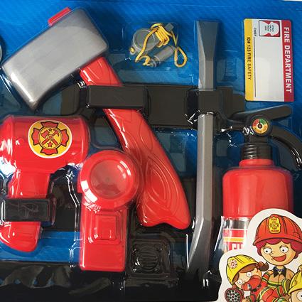 ست لوازم آتش نشانی اورجینال