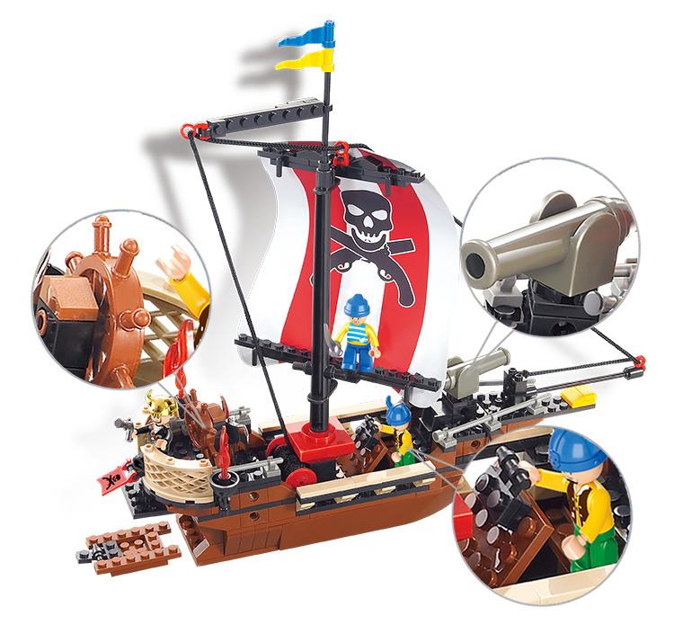 لگو کشتی دزدان دریایی