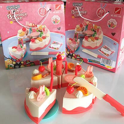 برش کیک Birthday