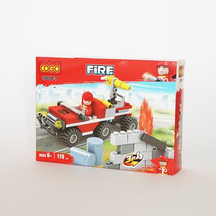 لگو آتشنشان ۳in1 مدل187 COGO