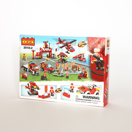 لگو آتشنشان ۳in1 مدل182 COGO