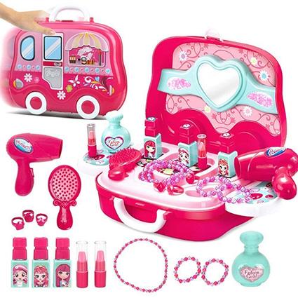 ست آرایشی چمدانی Fashion girls