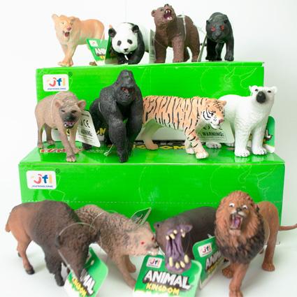 حیوانات وحشی Kingdom پکیج 12 عددی