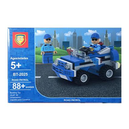 لگو پلیس مدل ماشین پلیس BT-2025