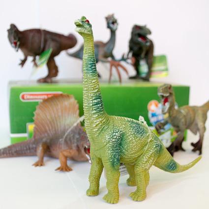 فیگور دایناسور – پک ۶تایی