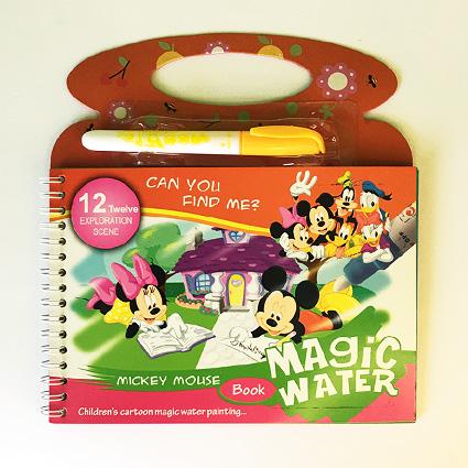 کتاب جادویی نقاشی مدل میکی موس Magic Water