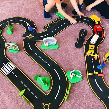 شهر و بازی - اسباب بازی آموزشی اجتماعی