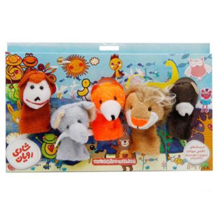 عروسک انگشتی حیوانات جنگل