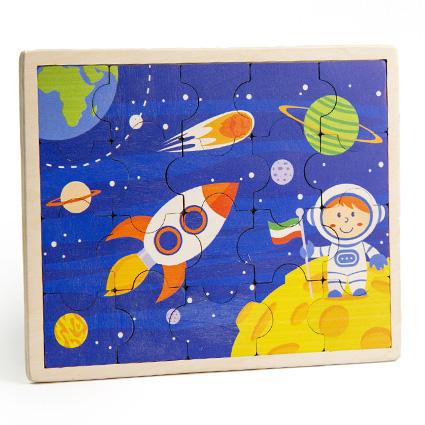 پازل چوبی جورچین فضانورد