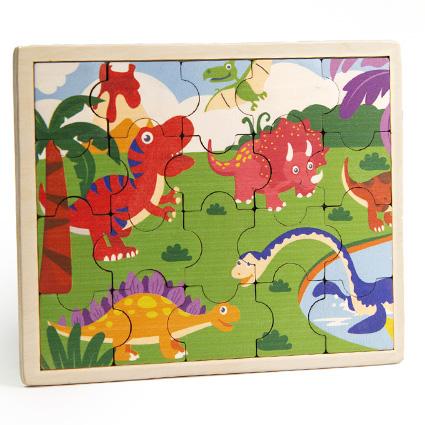 پازل چوبی جورچین دایناسورها