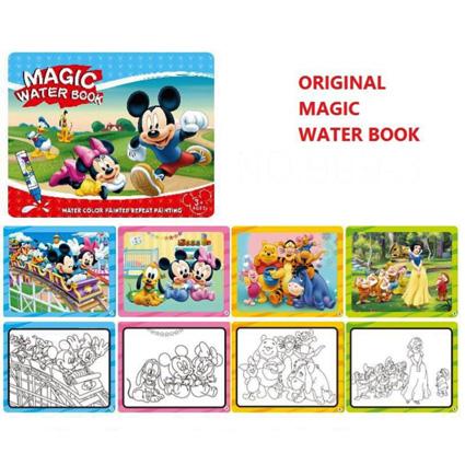 کتاب نقاشی جادویی میکی موس Magic Water Book