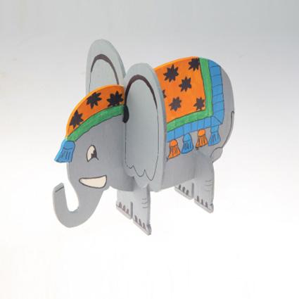 کاردستی چوبی ( فیل )