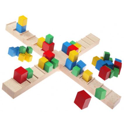 اسباب بازی چوبی تعادل مدل چهار بازو