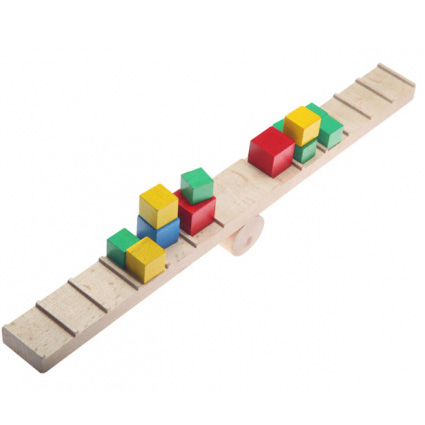 اسباب بازی چوبی تعادل مدل دو بازو