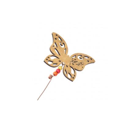 پروانه چوبی تزئینی