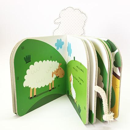 کتاب باغ وحش کوچولوی من - ببعی و بره