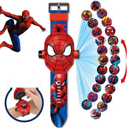 ساعت مچی دیجیتال پروژکتوری مرد عنکبوتی ( اسپایدرمن )