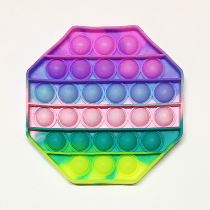 فیجت ضد استرس پاپ ایت ( pop it ) 8 ضلعی