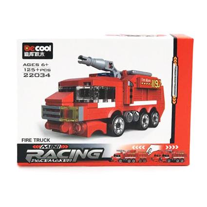 لگو کامیون آتش نشان آبپاش Decool 22034