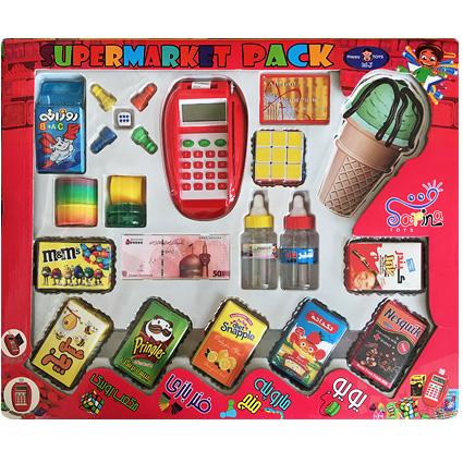 اسباب بازی کارتخوان سوپر مارکت supermarket pack